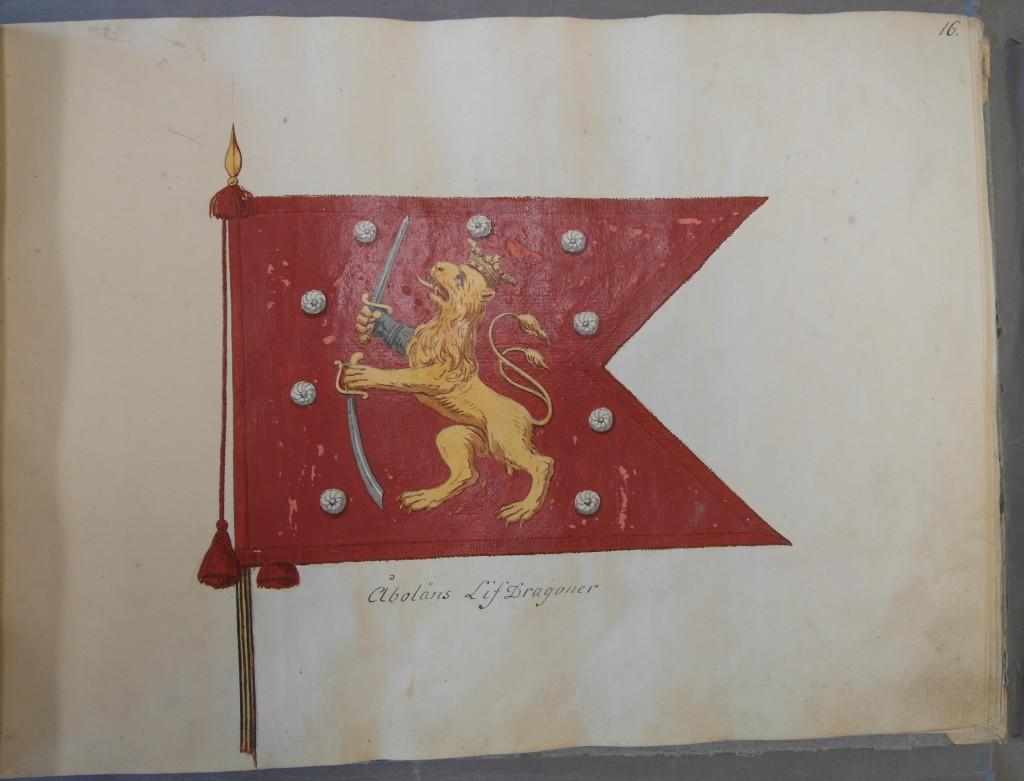 Livdragonregementet (före detta Åbo & Björneborgs kavalleriregemente)