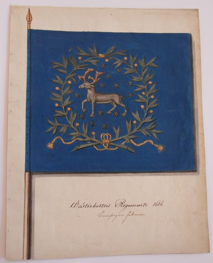 Västerbottens kompanifana m/1686