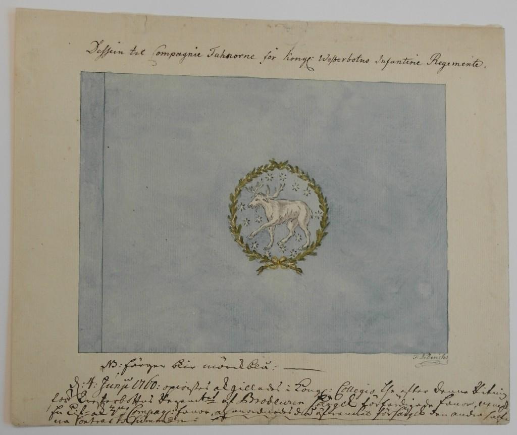 Västerbottens kompanifana m/1686B
