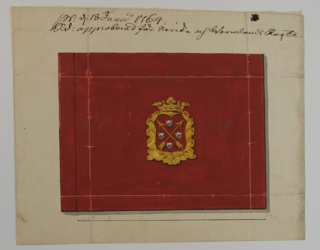 Närke-Värmlands regemente 1764 (kompanifana m/1761)