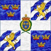 Royal Suedois fana efter 1760