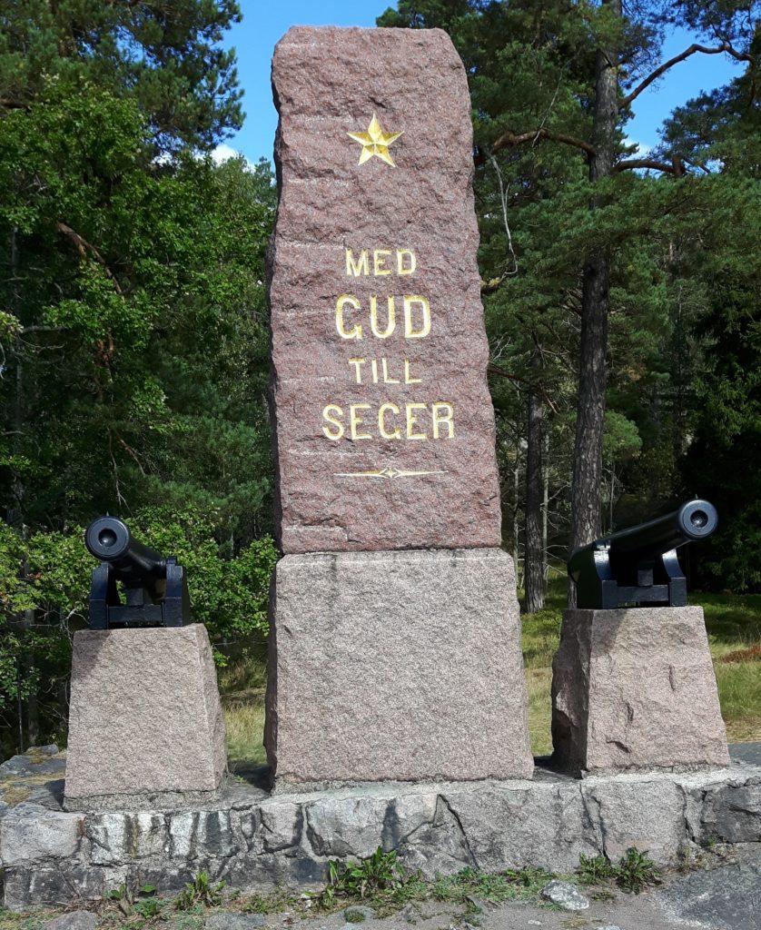 Monumentets framsida